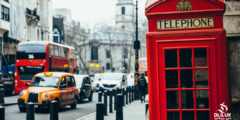 عاصمة بريطانيا وعواصم دول المملكة المتحدة الرئيسية الاربعة