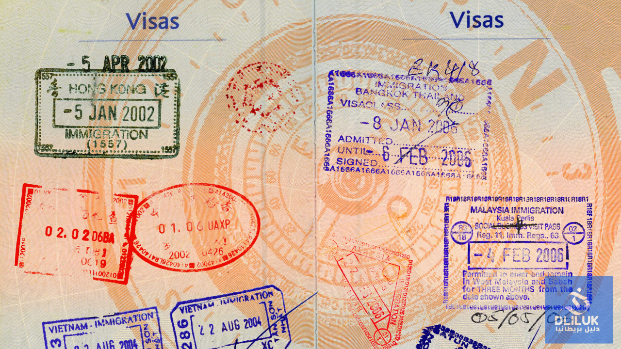 انواع التأشيرة البريطانية
