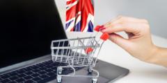 التسوق الإلكتروني في المملكة المتحدة